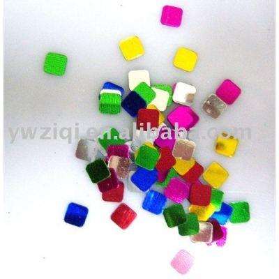 Square PVC sequins/paillette for garment decoration