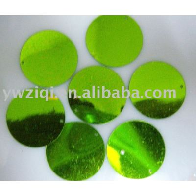 PVC round colorful confetti for crafts