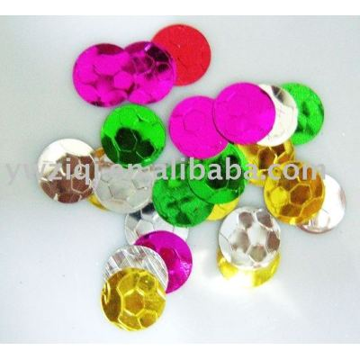 Put the glitter powder/paillettes on copy flower/craft flower/ imitation flowers/imitation fruit
