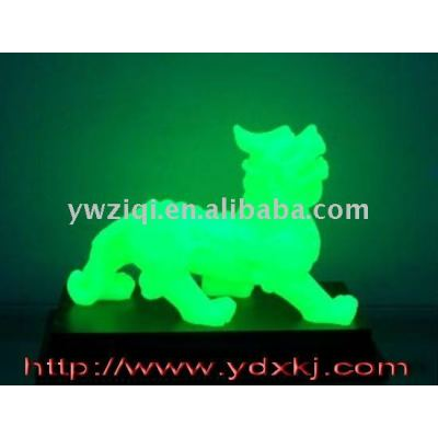 Luminous powder for crafts decoration