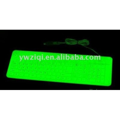 Luminous powder used for keyboard decoration