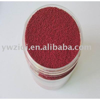 Hot sale red glass beads for party