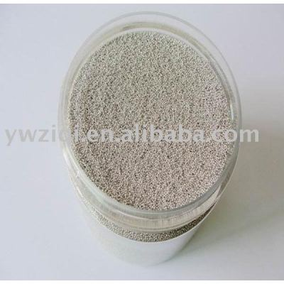 beautiful silver color glass seed beads for garments