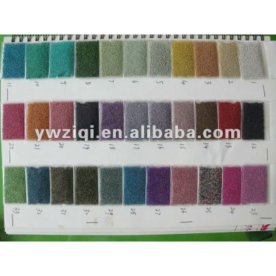Transparent colors glass seed beads for garments/crafts decoration