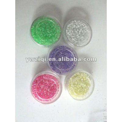 2 cut glass seed beads for garments decoration