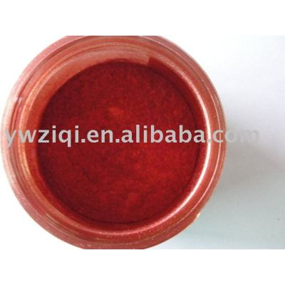 Elegant red color mica pearl powder for wall paper