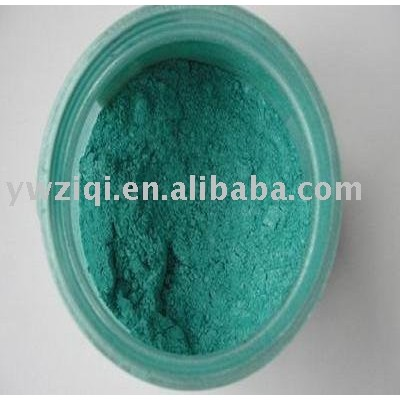 green color mica pearlescent powder