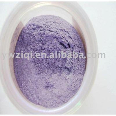 rainbow color series purple pearl powder