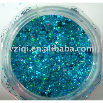 laser rhombus glitter powder