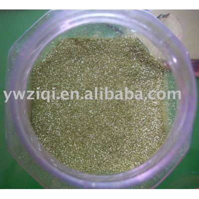 Fine gold color Glitter powder size from 1/8~1/256