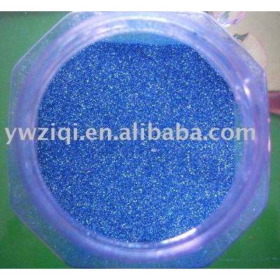 Fine blue color glitter for Christmas gift decoration
