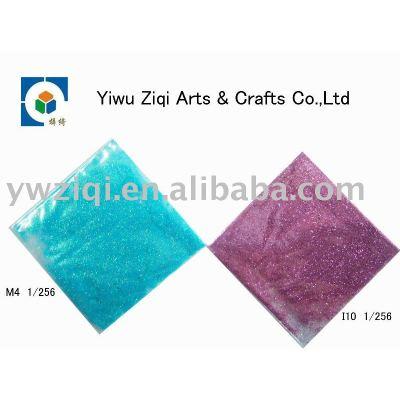 Eco-friendly glitter powder for body