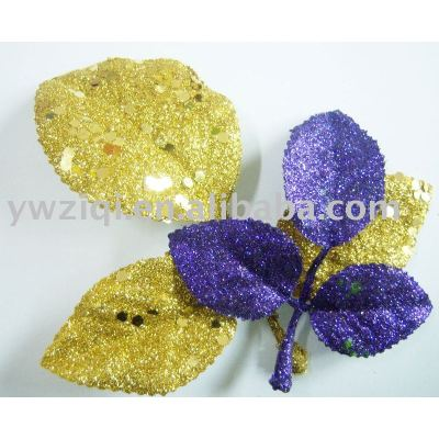shining glitter powder used for artifical flower decoration