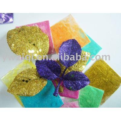 fine glitter powder for artifical flower decoration