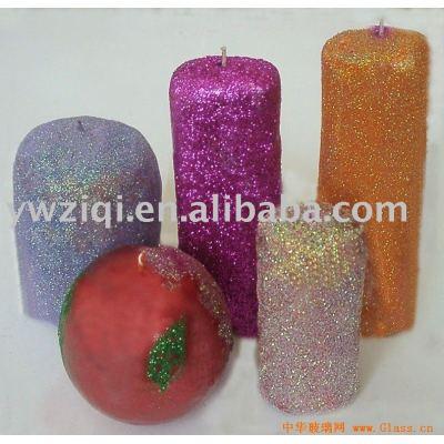 High temperature Glitter powder in Craft candle decoration