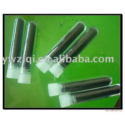 high quality glitter powder in key chains