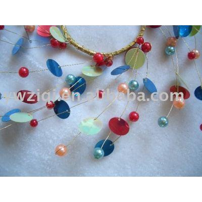 Glitter paillette using in fashion jewelry