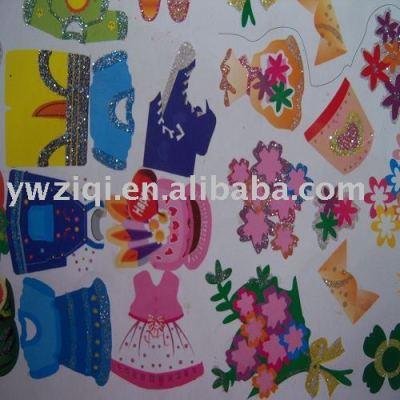 Hexagon Fabric Decorative Glitter powder