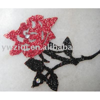 shining glitter powder used for artificial flowers spray