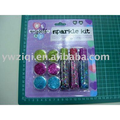 Glitter powder using for christmas decoration