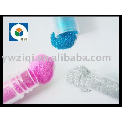 Fine glitter powder for textile/cosmetics