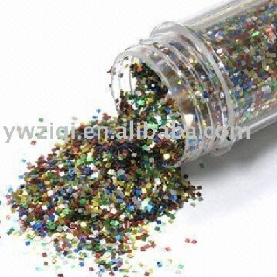High temperature Laser glitter powder for candle holder