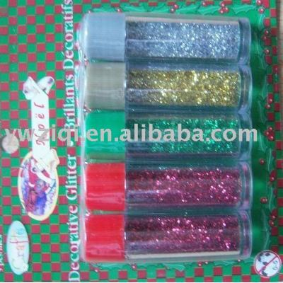 Fine Glitter powder for X-mas celebration