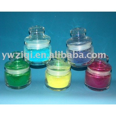 square fine glitter powder for embossing printing