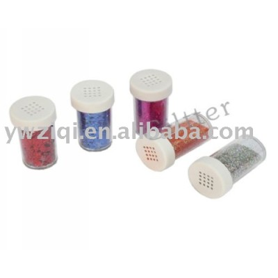 High temperature embossing glitter powder for textile printing