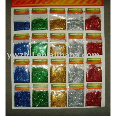 Glitter powder kit used for Crafts