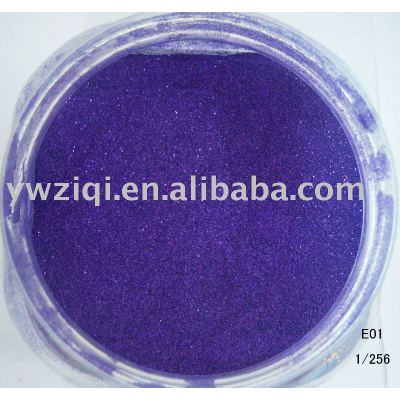 High multi-color embossing glitter powder for shoes