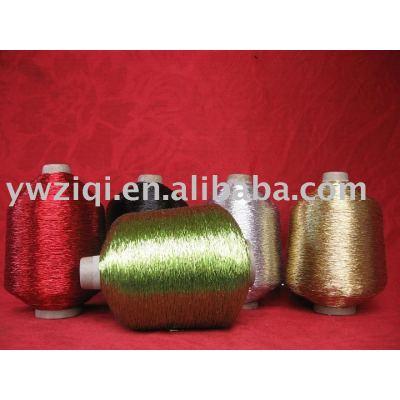 S-type fine metallic yarn for garment