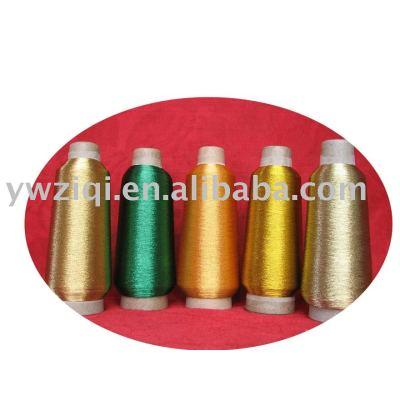 pure silver metallic yarn,multi-color and class