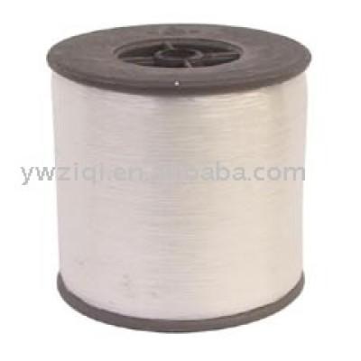 Tranceparent color metallic yarn
