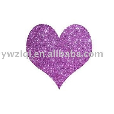 High temperature glitter powder using in PU leather