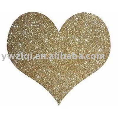 Glitter powder using in greeting cards