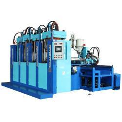 Cuatro estaciones una inyección plástico moldeado por inyección máquinas LR-T0401-D
