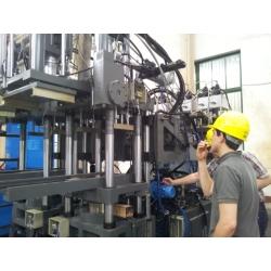 Duplo LR165D de máquinas de injeção única cor