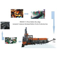 Residuos de caucho reciclado máquinas TL-LARY180