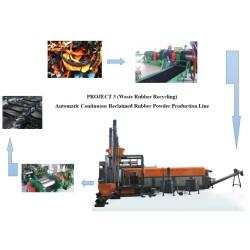 Borracha TL-LARY180 de máquinas de reciclagem de resíduos