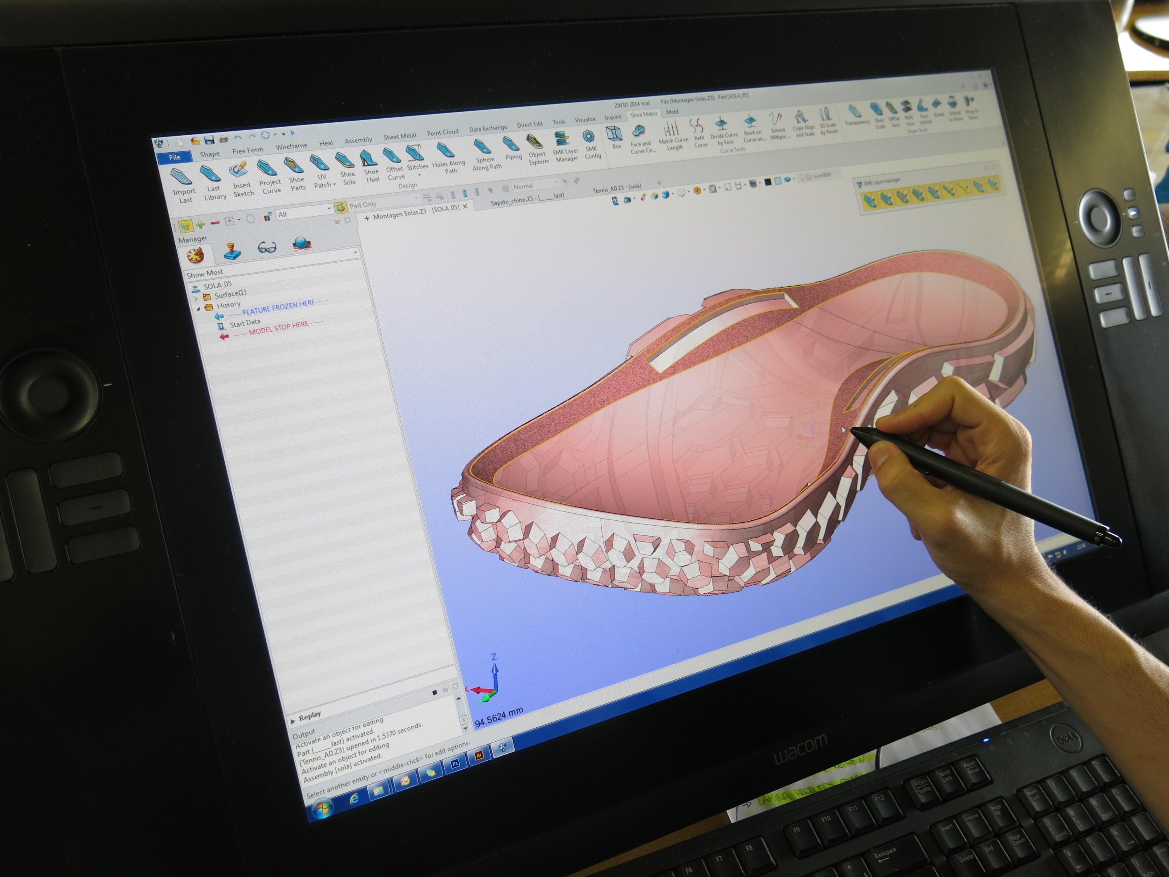 3D shoe sole design software | professinal for rubber shoe