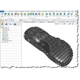 Advanced technology 3D shoe sole design software