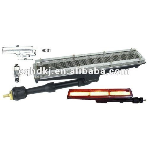 Infrared gas heater element for industrial clothes dryer ...