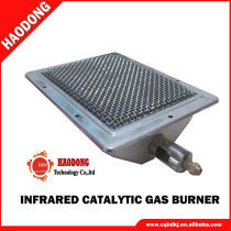 Ceramic barbecue roaster parts Cheap Aluminium gas burner HD220