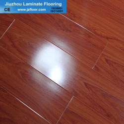 12mm glossy CE laminate flooring