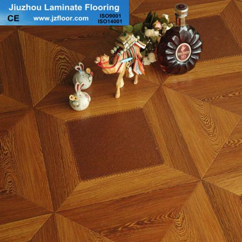 12mm square parquet good hdf laminate flooring china for Square laminate flooring