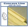 Concave line