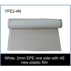 2mm EPE one side with 4S new plastic film