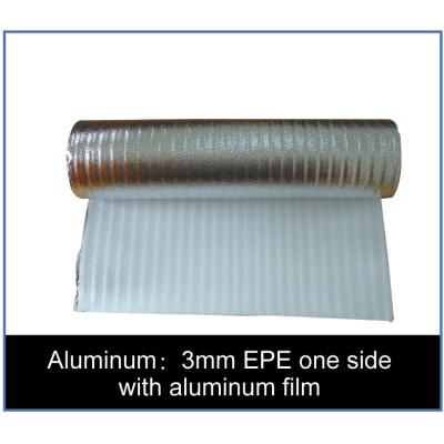 3mm EPE one side with aluminum film