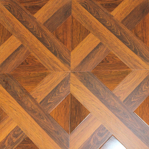 12mm e1 square parquet laminate flooring china square for Laminate tile squares